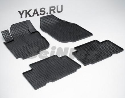 Коврики резиновые   Toyota RAV-4 III рест. 2008-2012г.  СЕТКА