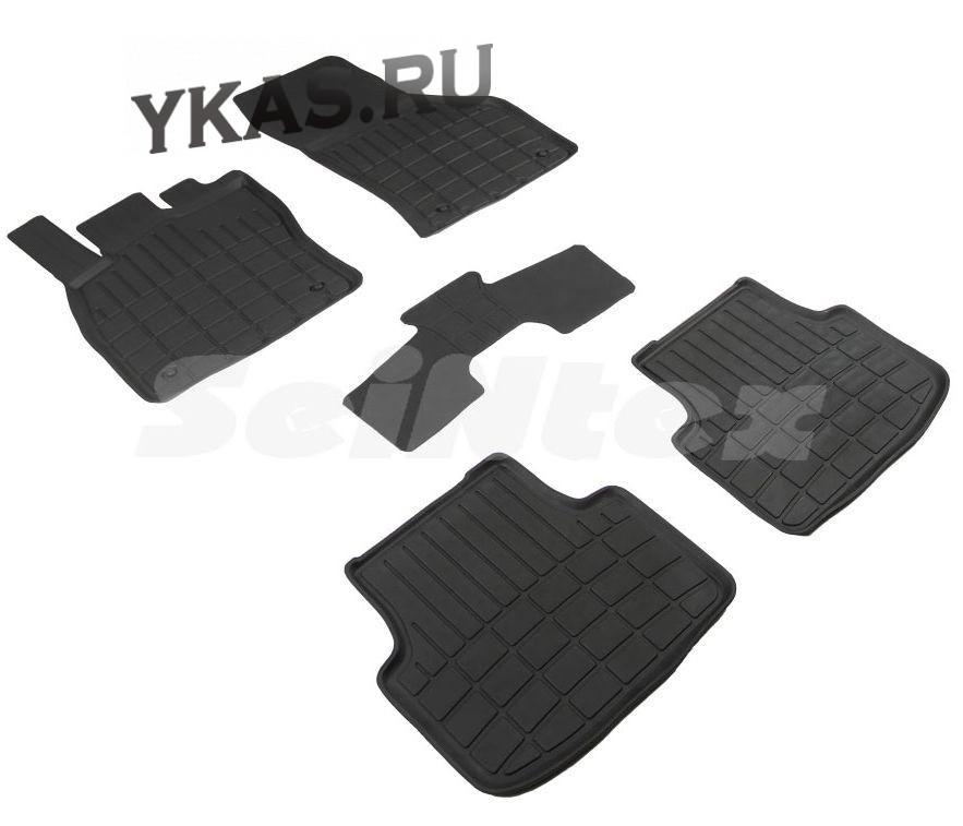 Коврики резиновые   VW Jetta VI 2018г- БОРТ (стандарт)