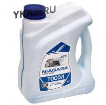 "Тосол  ""Niagara""  А-40М 3 кг.(канистра)"