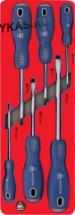 Набор отвёрток, ложемент, 6 предметов _37679