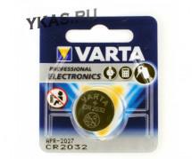 Батарейки Varta   круглые CR2032 цена за 1шт.