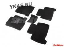 Коврики  LEXUS NX200 с 2014г- /компл.5шт./осн.резин./ 3D
