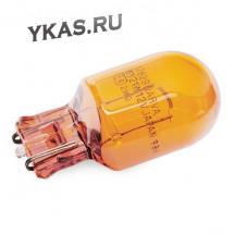 Автолампа Narva 12V  WY21W    21W    W3X16d  AMBER (оранж.) (упак.10шт)
