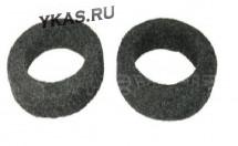 Подставки под колонки  ПОДИУМЫ  под РУПОР (плоский , высота 1,5-1,8см)  карпет  (2 шт.)