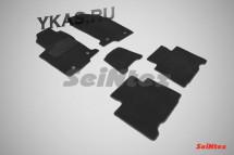 Коврики текстильн. LEXUS NX200 с 2014г- кроме версий с гибридным двигат/компл.5шт./осн.резин./ LUX