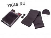 Оплетка на руль   Vitol   VSF68/4   S черная/обшиваемая/кожа/4 шва
