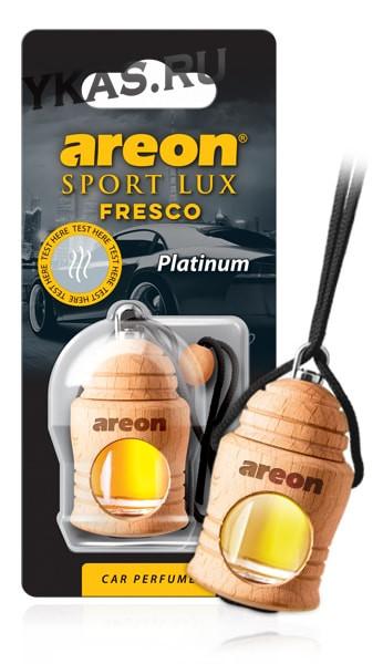 "Осв.возд. Areon FRESCO ""бутылочка в дереве"" Sport LUX  PLATINUM"