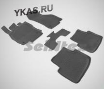 Коврики резиновые   VW Passat B8  SD  с 2014г.-  БОРТ