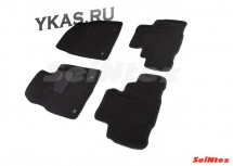 Коврики  LEXUS RX IV с 2015г  /компл.4шт./осн.резин./ 3D