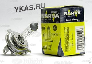 Мотолампа Narva 12V   HS1(H4)    35/35W   PX43t box