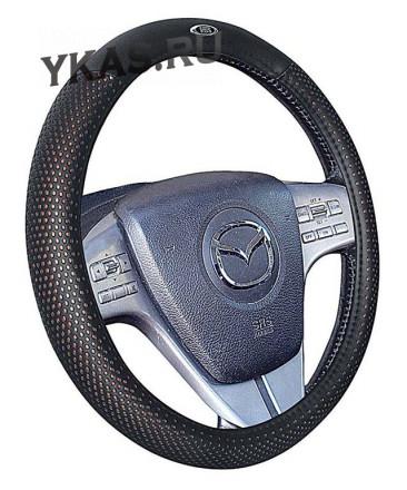 Оплетка на руль   H&R  BUGATTI - М, Коричневый
