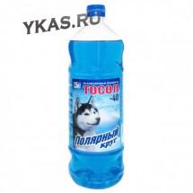 """Тосол  """"Полярный круг""""  А-40М 1 кг. ПЭТ(мягкая упаковка)"""