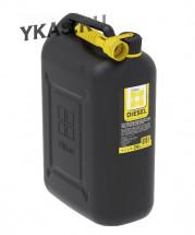 Канистра пластиковая  Oktan DIESEL  25л (черная)