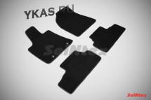 Коврики текстильн. LEXUS RXII 2003-2009г. кроме версий с гибрид. двигат/компл.4шт./осн.резин./ LUX