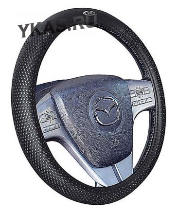 Оплетка на руль   H&R  BUGATTI - М, Серебристый