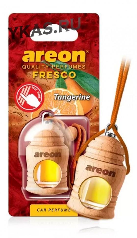 """Осв.возд. Areon FRESCO """"бутылочка в дереве"""" Tangerine (мандарин)"""