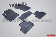 Коврики резиновые   Mitsubishi  ASX с 2010г.-  СЕТКА