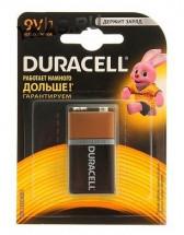 Батарейки Duracell   КРОНА  6LR61-BL-1 цена за 1шт.