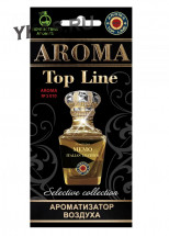 Осв.возд.  AROMA  Topline  Селективная серия s010   Memo Italian Leather