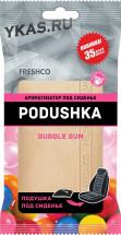 "Осв.воздуха под сиденье  ""Freshco Podushka"" Bubble Gum"