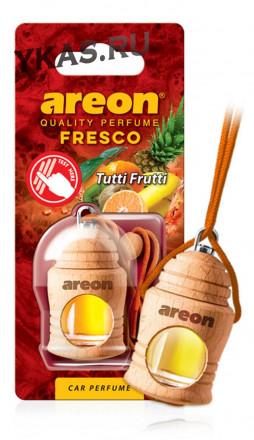"""Осв.возд. Areon FRESCO """"бутылочка в дереве"""" Tutti Frutti"""