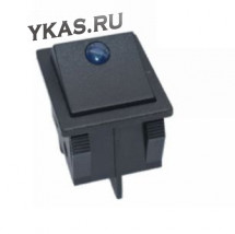 ЭТ Кнопка FOTEK 29,5*22,4мм, синий диод