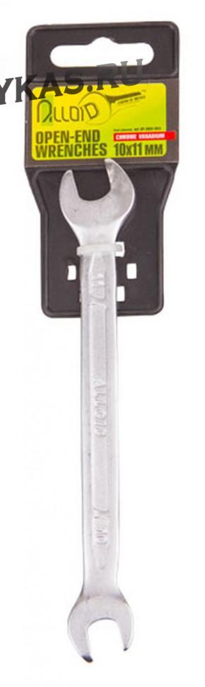 Alloid. Ключ рожковый 14х15 мм.