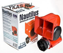 Сигнал возд  NAUTILUS CA-10400/12V/красный