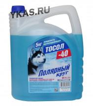 """Тосол  """"Полярный круг""""  А-40М 5 кг."""