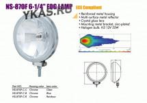 "Фары доп. NS-870 F-C-C H3/12 В/55W/D=160mm(6-1/4"")"
