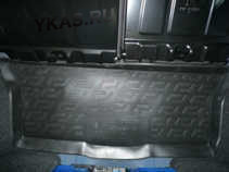 Коврик багажн.  Peugeot 107 HB (05-)