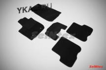 Коврики текстильн. Renault Logan II c 2014г-  /компл.5шт./осн.резин./ LUX