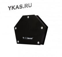 Foxweld  Угольник магнитный FIX-5 Pro, усилие до 34кг. (30/45/60/75/90/135°)