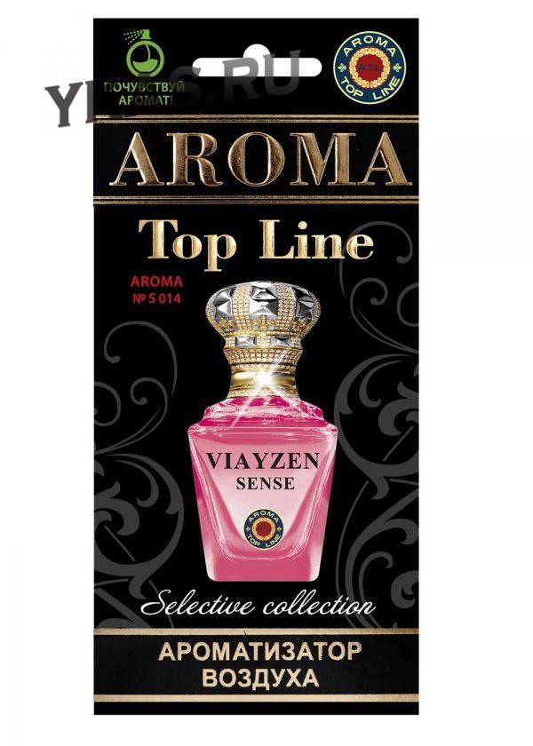 Осв.возд.  AROMA  Topline  Селективная серия s014   Viayzen Sence