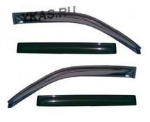 Дефлекторы стёкол  VORON GLASS LADA 2111, 2170 PRIORA универсал  накладные  к-т 4 шт.