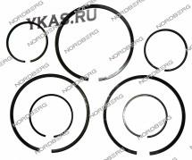 Комплект  поршневых колец HP +LP B/60 для NORDBERG /830_48182