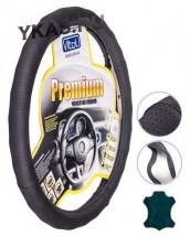 Оплетка на руль   Vitol  396  XL (черная/БО/перф/кожа)
