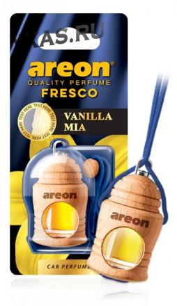 """Осв.возд. Areon FRESCO """"бутылочка в дереве"""" Vanilla MIA"""
