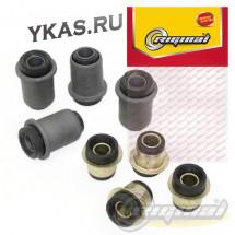 RG Сайлентблок рычага подвески (кт 8шт)  ВАЗ-2121-2123 резина!