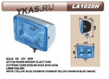 Фары доп. DLAA 1020 W хром/H3-12V-55W/117*86mm