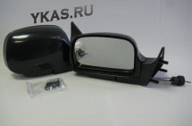 Зеркало боковое  3Б 3291-10 /ВАЗ 2110/Black  Чёрное
