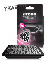 Осв.возд. Areon  AROMA  BOX  Bubble Gum (под сиденье)