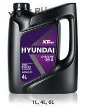 Масло Hyundai  XTeer Gasoline  10W30  4lt   API SN  GF-5 SYNTHETIC