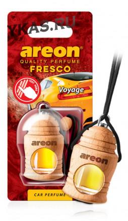 "Осв.возд. Areon FRESCO ""бутылочка в дереве"" Voyage"