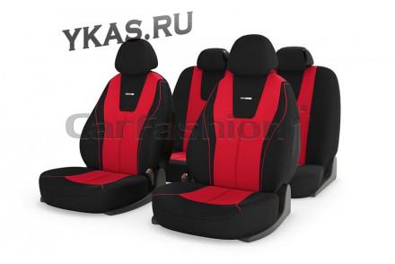 Чехлы  «DOUGLAS»  Красный/Чёрный/Красный