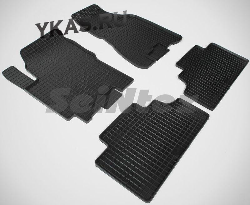 Коврики резиновые   Kia Sportage II 2005-2010г. СЕТКА