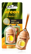 """Осв.возд. Areon FRESCO """"бутылочка в дереве"""" Yuzu Squash"""