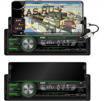Автомагн.  DIXON MX-180BT-M  Мультицвет USB с Hands-Free с подставкой под телефон