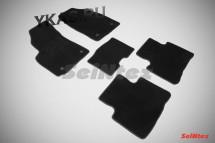 Коврики текстильн. Gelly Emgrand X7 2011-2017г. /компл.5шт./осн.резин./ LUX