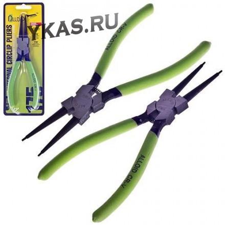 Alloid. Щипцы для стопорн колец сжим прямой 175мм. (СК-6044A)